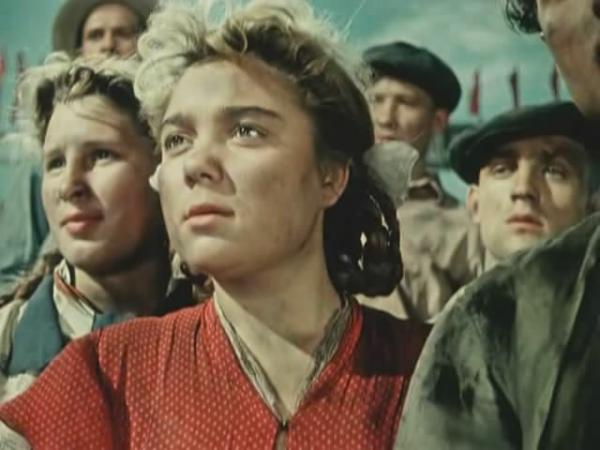 """Нина Дорошина. """"Первый эшелон"""" 1955 г."""