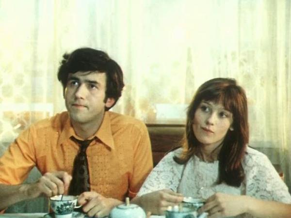 """Станислав Садальский и Наталья Варлей """"Три дня в Москве"""" 1974 г."""