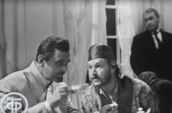 "Александр Кайдановский и Юрий Яковлев. ""Драма на охоте"" 1970 г."