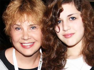 Татьяна Догилева с дочерью Катей