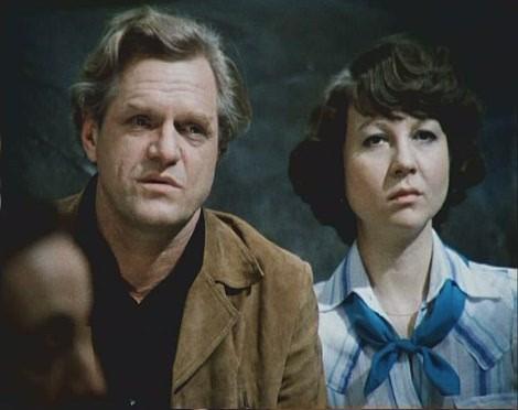 """Леонид Марков и Наталья Гурзо. """"Гараж"""" 1979 г."""