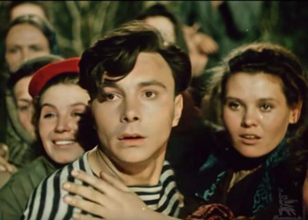 """Сергей Гурзо. """"Смелые люди"""" 1950 г."""