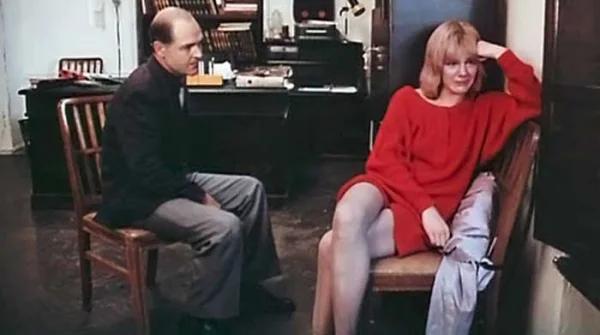 """Алексей Жарков и Александра Захарова. """"Криминальный талант"""" 1988 г."""