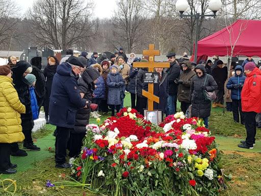 Могила Сергея Юрского