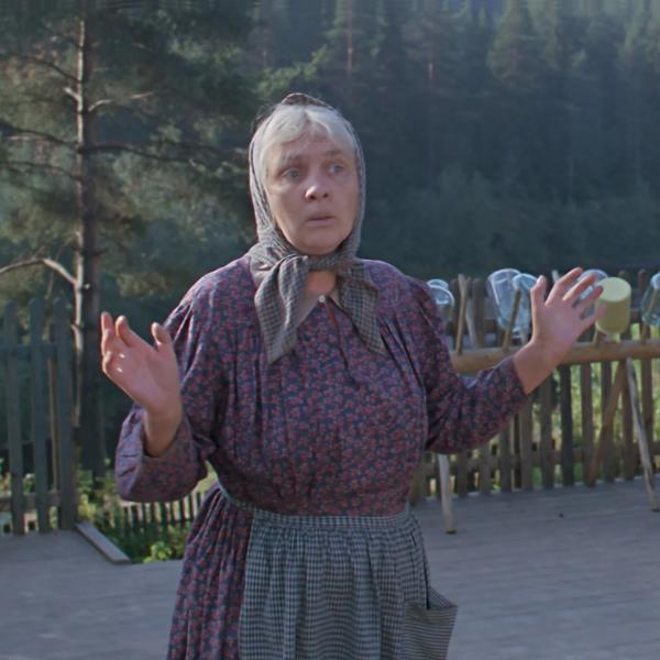 "Наталья Тенякова. ""Любовь и голуби"" 1984 г"