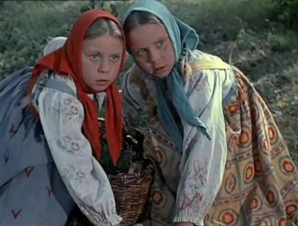 """""""Морозко"""". 1964 г. Сестры Юкины"""