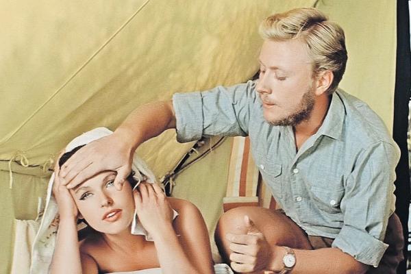 """Наталья Фатеева и Андрей Миронов. """"Три плюс два"""" 1963 г."""