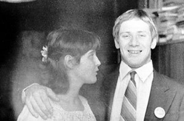 Мириам Александрович и Андрей Краско