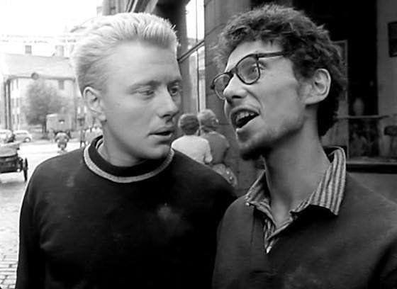 "Андрей Миронов т Олег Даль. ""Мой младший брат"" 1962 г."
