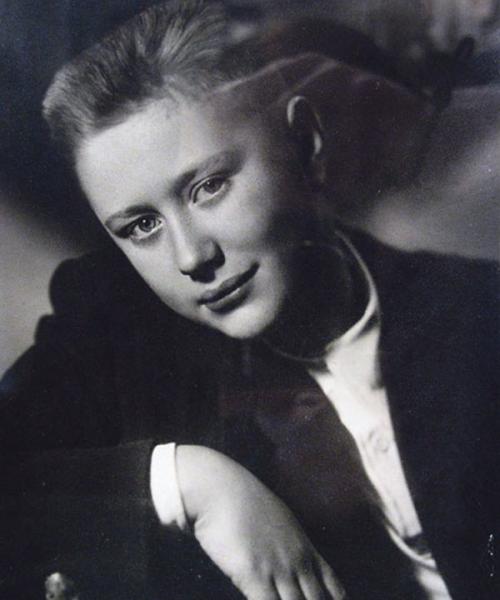 Андрей Миронов в школьные годы