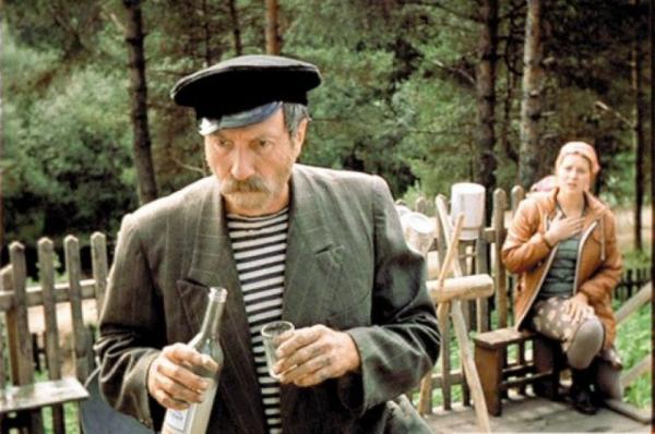 """Сергей Юрский и Янина Лисовская. """"Любовь и голуби"""" 1984 г"""