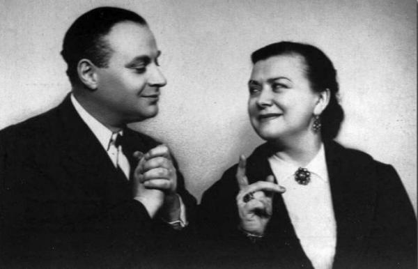 Александр Менакер и Мария Миронова