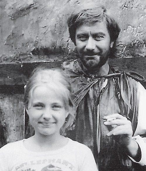 Андрей Миронов с дочерью Марией