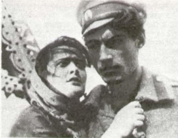 «Тихий Дон». 1931. Э. Цесарская (Аксинья) и А. Абрикосов (Григорий)