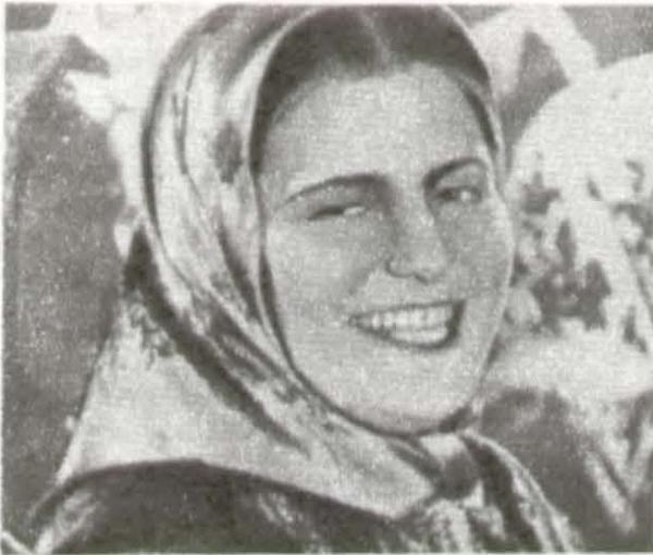 «Бабы рязанские». 1927. Э. Цесарская (Василиса)