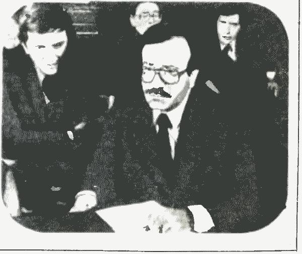 Режиссер фильма «Крепость» Билаль Сабуни отвечает на вопросы советских журналистов