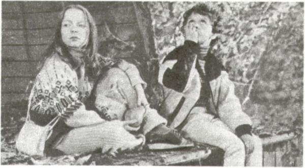 Катя (Катя Голубева) и Петя (Сережа Селезнев)