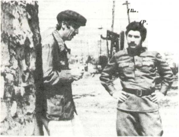 Юсиф Мехтиев (Ш. Алекперов), Седых (Р. Азимов)