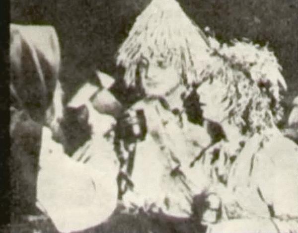 На снимке — один из эпизодов фильма «Подарок черного колдуна».