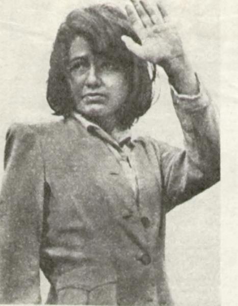 Прощание на границе. В роли немецкой женщины — Лайма Штримайтите