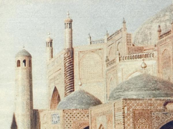 Мечеть в Мазари-Шерифе