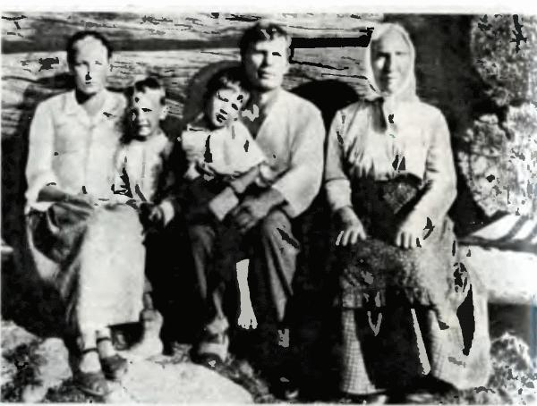 Наталья (В. Федотова), Сергунок (Н. Федотов), Митюнька (В. Восконянц), Касьян (В. Гостюхин), мать Касьяна (С. Станюта)