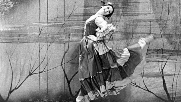 Любовь Полищук на сцене Московского мюзик-холла