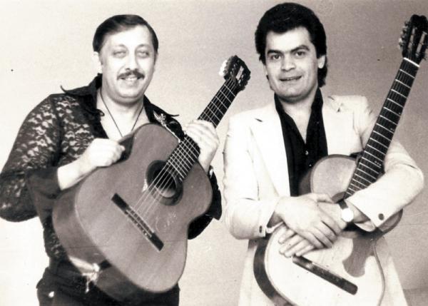 Владимир Климашенко (справа)