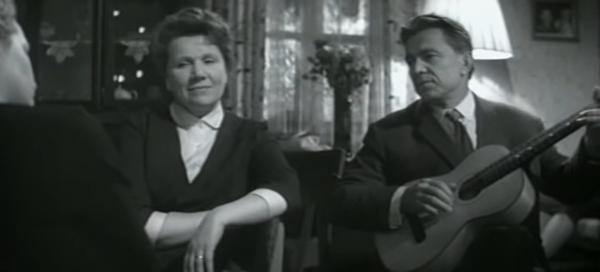 """Нина Сазонова и Павел Любешкин. """"Женщины"""" 1965 г."""