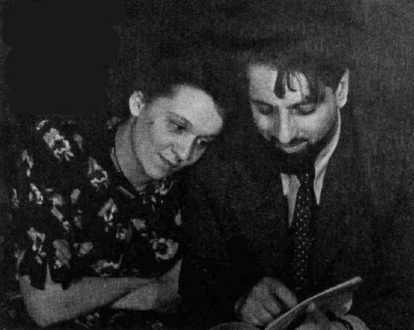 Нина Ольшевская и Виктор Ардов