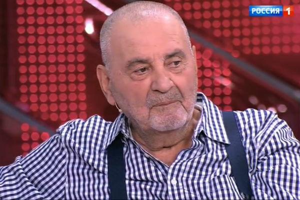 "Вадим Эльгарт. Кадр из передачи ""Пусть говорят"""