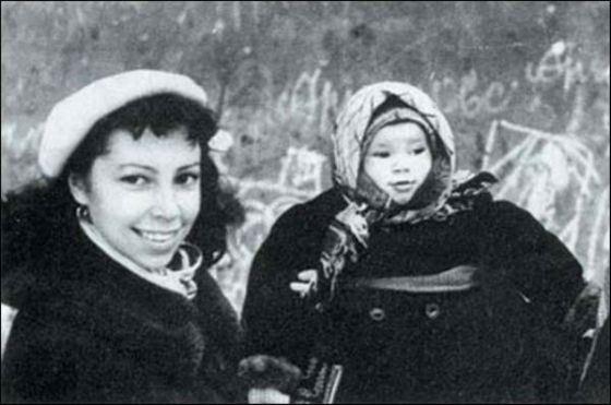 Ирина Ротова с дочерью Надей