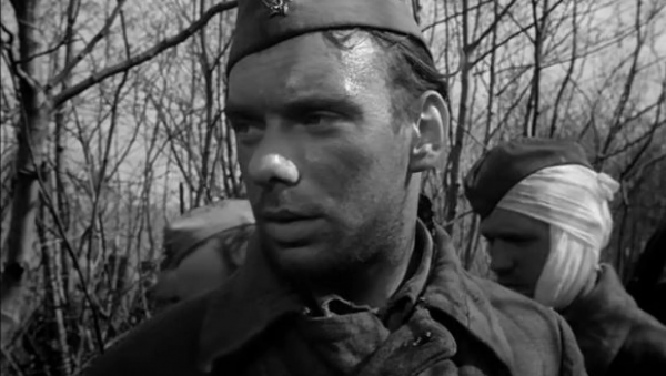 "Алексей Баталов. ""Летят журавли"" 1957 г."