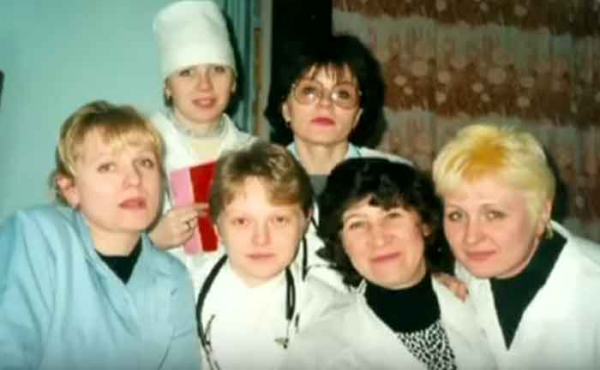 Маргарита Сергеевичева с коллегами
