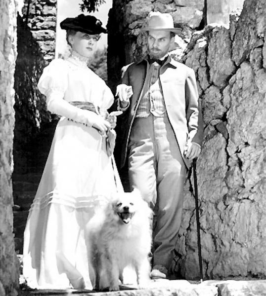 "Алексей Баталов и Ия Савина. ""Дама с собачкой"" 1960 г."