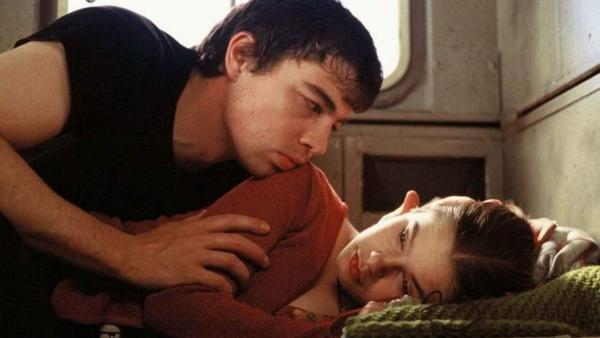 """Сергей Бодров и Ребекка Лильеберг. """"Медвежий поцелуй"""" 2002 г."""
