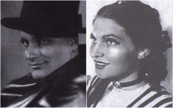 Георгий Менглет и Валентина Королева