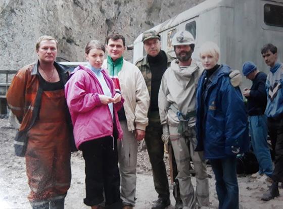 Поиски в Кармадонском ущелье. Вдова Сергея Бодрова.