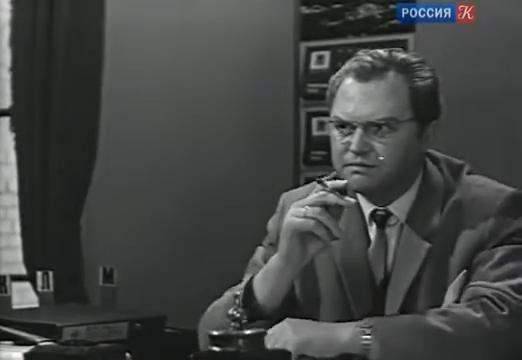 "Леонид Сатановский. ""Лебедев против Лебедева"" 1965 г."