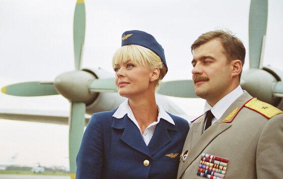 """Юлия Меньшова и Михаил Пореченков. """"Большая любовь"""" 2006 г."""