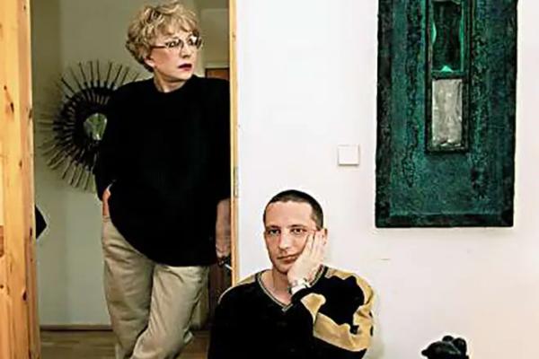Татьяна Лаврова с сыном Владимиром