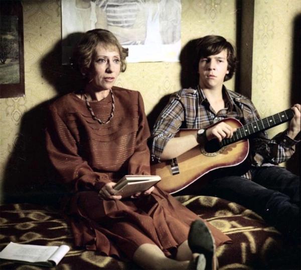 """Инна Чурикова и Федор Дунаевский. """"Курьер"""" 1986 г."""