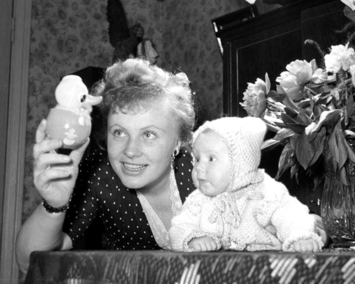 Алла Ларионова с дочерью Аленой