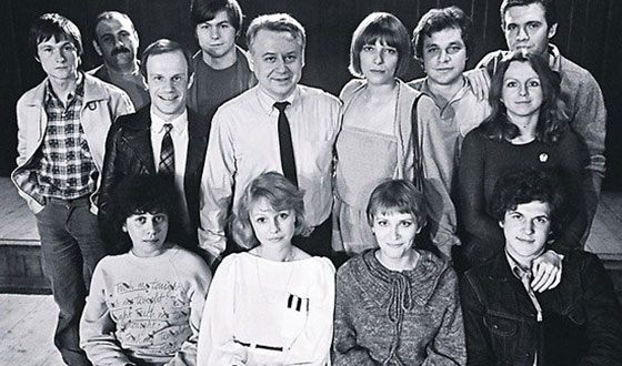 ГИТИС, курс Олега Табакова (Майорова справа от мастера)