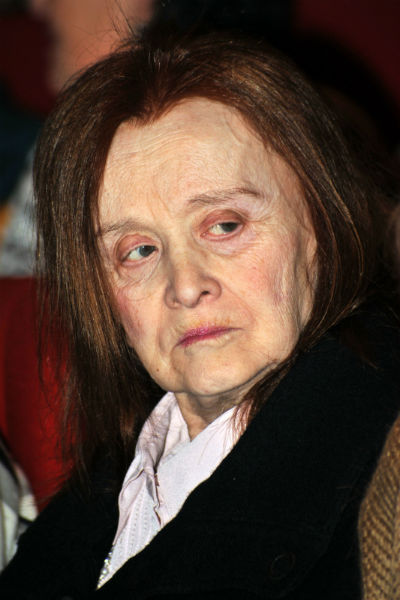 Маргарита Терехова в старости