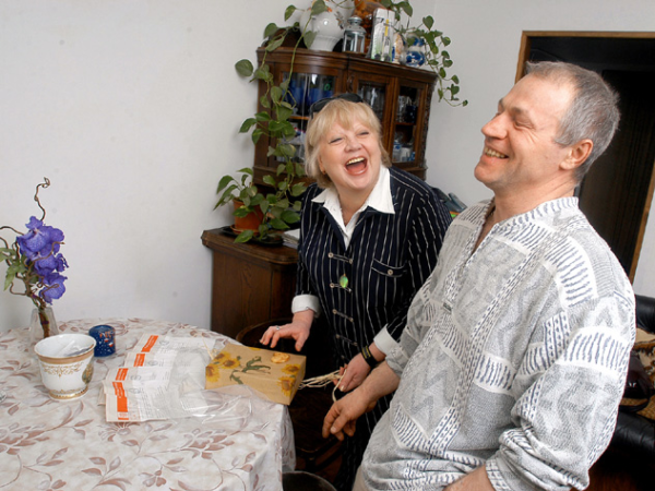 Светлана Крючкова и Александр Молодцов