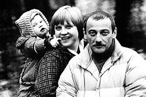 Светлана Крючкова и Юрий Векслер с сыном Димой