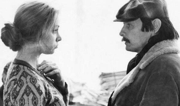 Маргарита Терехова и Андрей Тарковский
