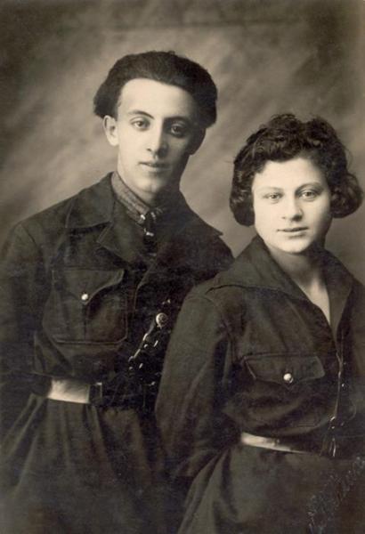 Родители Семена: Лев Фердман и Ида Шуман