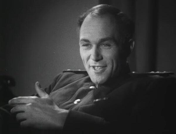 """Сергей Лукьянов. """"Поединок"""" 1944 г."""
